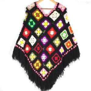 f7650dc536a7f Women Granny Square Sweater on Poshmark